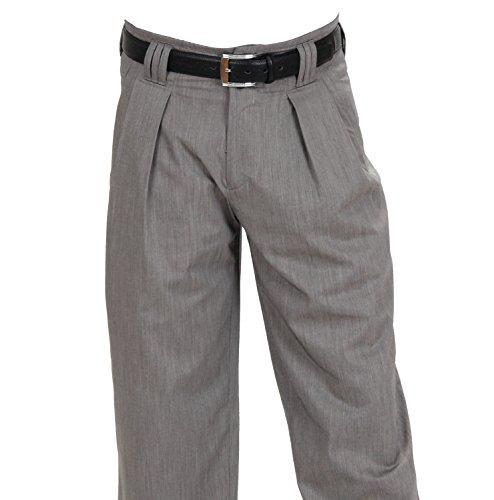 H K Mandel -  Pantaloni  - con pinces - Basic - Uomo