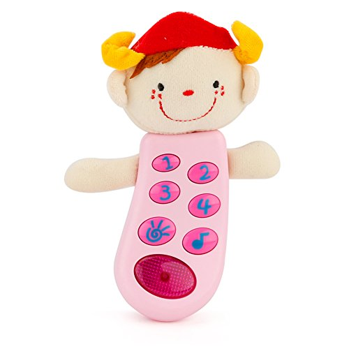 Cute Cartoon Plush Doll Children Music Flash Toy Infants Sleeping Aid Toy Toddler Intelligence Development - Stores Meridian Mall