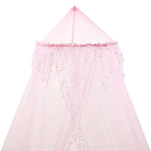 Lowest Prices! Home and More Store Princess Bed Canopy - Pink