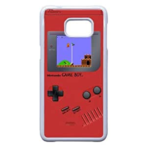 Samsung Galaxy Note 5 Edge Phone Case White Game boy Super Mario Bros NLG7837671