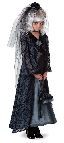 Midnight Bride Child Costume (Midnight Bride Child Costume Size Medium (8))