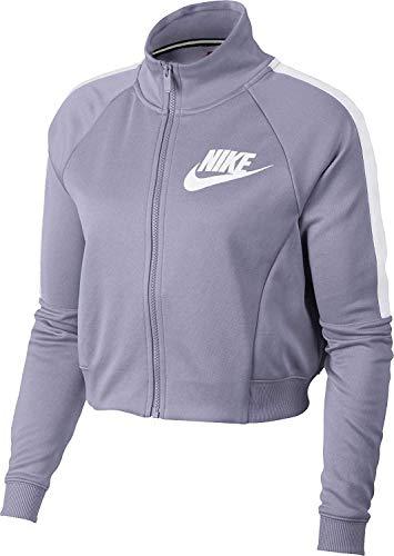 Ladies N98 Track Jacket - NIKE Women's Sportswear N98 Cropped Track Jacket (Barely Grape, Medium)
