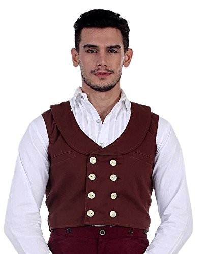 ThePirateDressing - Gilet - Homme Marron Marron