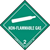 Labelmaster HML4 Non-Flammable Gas Worded