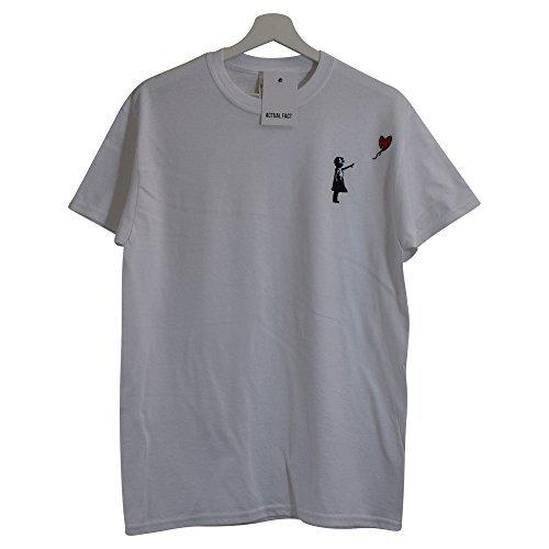 Actual Rue shirt Tang Hip Fact s De xxl X Blanc Clan Banksy Wu Hop Art T 8ng8OfqSrF