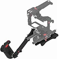 JTZ DP30 Electronic Control Handle Grip Shoulder Pad 15mm Rod Support DSLR Rig
