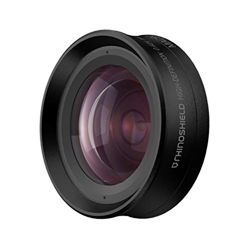 2 in 1 Add-On Camera Lens by RhinoShield - Professional Wide Angle + Macro 4K HD Bayonet-Style Mount Phone Camera Lens