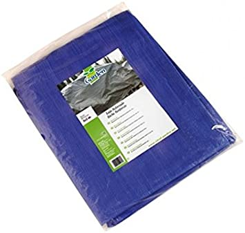 Toldo reforzado gramaje 90 grs, 3 x 2 m, color azul - Catral ...