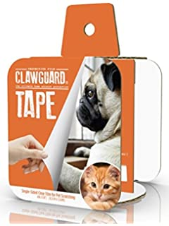 CLAWGUARD Protection TAPE   Ultimate Pet Shield For Window Sill, Furniture,  Glass, Weather