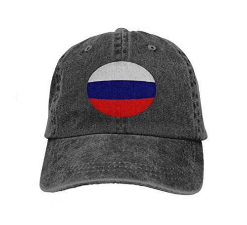 Cotton Baseball Cap Adjustable Trucker Hats Flag Russia Happy Painting ()