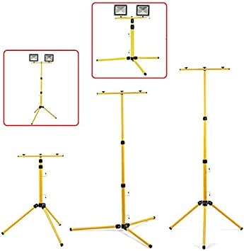 Proyector LED Soporte trípode reflector 62-150cm, construcción de ...