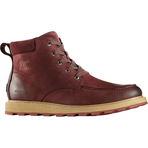 Moc Waterproof Toe Madson Redwood Crouton Boots SOREL Men's qT6OaxWwE