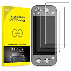 JETech Screen Protector for Nintendo Switch Lite 2019, High Quality Tempered Glass Film, 3-Pack