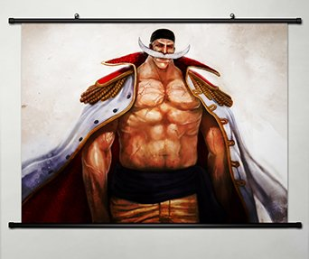 Wall Scroll Poster Fabric Painting For Anime One Piece Edward Newgate 196
