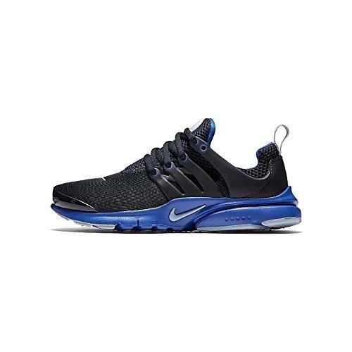 Nike Presto Gs Jeunes Garçons Chaussure De Course Foncé Obsidienne / Bleu Gris - Hyper Cobalt