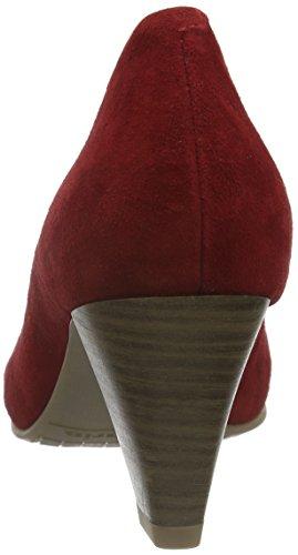 Tamaris 22414, Zapatos de Tacón para Mujer Rojo (CHILI SUEDE 590)