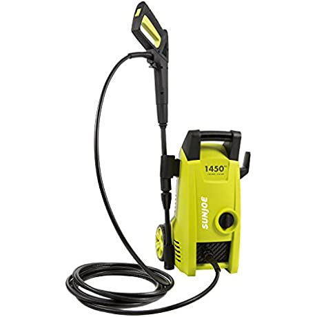 Sun Joe SPX1000 1450 PSI 1 45 GPM Electric Pressure Washer 11 5 Amp
