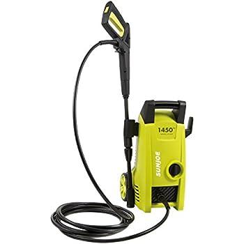 Sun Joe SPX1000 Electric Pressure Washer, Green