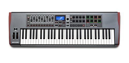 Novation Impulse 61 USB Midi Controller Keyboard, 61 Keys from Novation