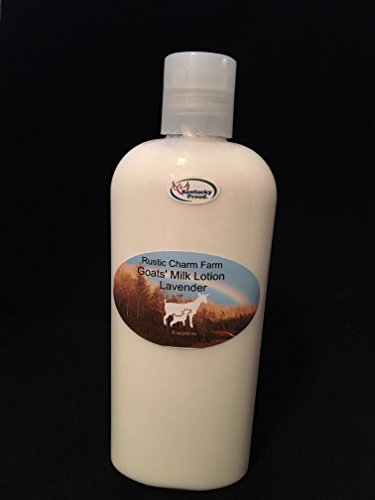 Goats' Milk Lotion Lavender by Rustic Charm Farm