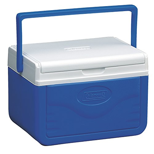 Coleman FlipLid Cooler, 5 Quart , Blue (Rubbermaid Cooler)