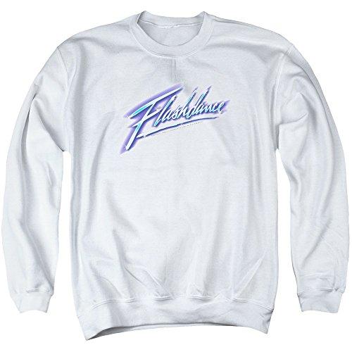 Sons of Gotham Flashdance Logo Men's Crewneck Sweatshirt L White