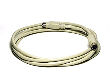 Monoprice 100093 6-Feet PS/2 MDIN-6 Male to Female Cable (100093)