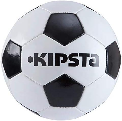 Balón de fútbol First Kick talla 5 KIPSTA negro: Amazon.es ...