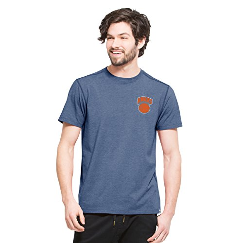 NBA New York Knicks Men's '47 Overload Tee, Large, Shift (New York Knicks Vintage T-shirt)