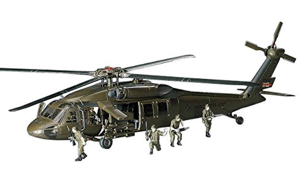 [해외] 하세가와 1/72 미국 육군 UH-60A 블랙 호크 프라모델  D3