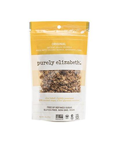Purely Elizabeth Ancient Grain Granola, Original, 2 Ounce Mini Single (Pack of 8)