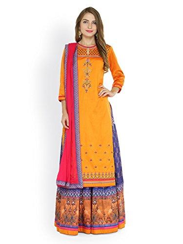 Silk Blend Skirt Suit - 6