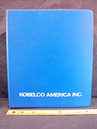 Kobelco SK220 LC LLU0301 Parts Manual