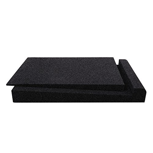 Studio Monitor Isolation Pads, Suitable for 5'' - 8'' inch for Speakers, High-Density Acoustic Foam for Significant Sound Improvement, Prevent Vibrations and Fits most Stands - 2 Pads by Shayson (Image #1)