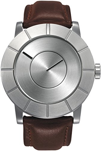 Issey Miyake Men's TO AUTOMATIC Watch Tan/Silver #SILAS003