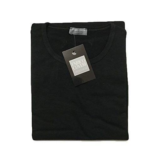 Enrico Manica Bielatico Girocollo to 3 Uomo Coveri nero shirt Et1000 Ass Cotone Grigio T Mezza Art Blu 8xHIR
