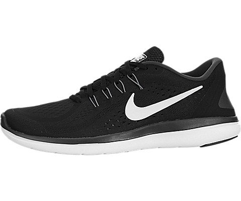 cd06d37a336a Galleon - Nike Men s Flex 2017 RN Running Shoes Black White Anthracite Cool  Grey 13 D(M) US