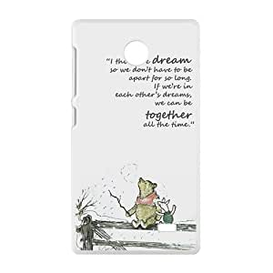 I Think We Dream Brand New And Custom Hard Case Cover Protector For Nokia Lumia X