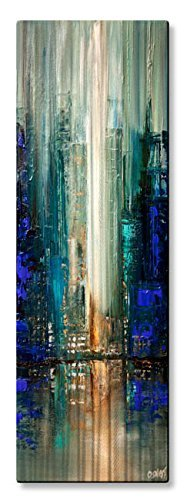 All My Walls Metal Wall Sculpture Contemporary Abstract City Lights 7 from All My Walls