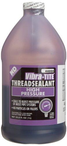 Vibra-TITE 440 Hydraulic and Pneumatic Anaerobic Thread Sealant, 1 liter Jug, Purple by Vibra-TITE
