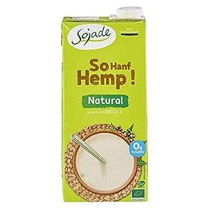 Sojade Organic Unsweetened Hemp Drinks 6 Tetra Pac...
