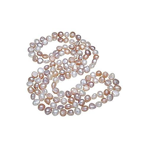 1e891d79e688 Collar de perlas TreasureBay elegante y clásico