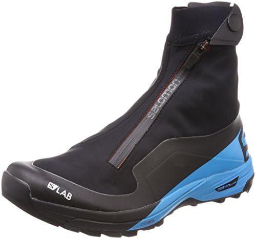 トレイルランニング シューズ S/LAB XA Alpine 2 (エスラボ エックスエー アルパイン 2) Black/Transcend Blue/Racing Red 27.5cm