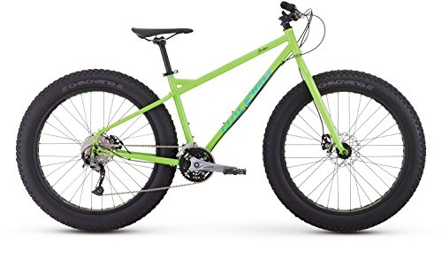 Raleigh Bikes Pardner Fat Bike, Green, 19″/Large