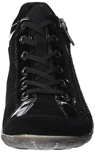 sale tumblr good selling cheap price Remonte Women's R3487 Hi-Top Sneakers Black (Schwarz/Schwarz/Schwarz / 02) discount looking for discount new arrival PyQdTWXpr5