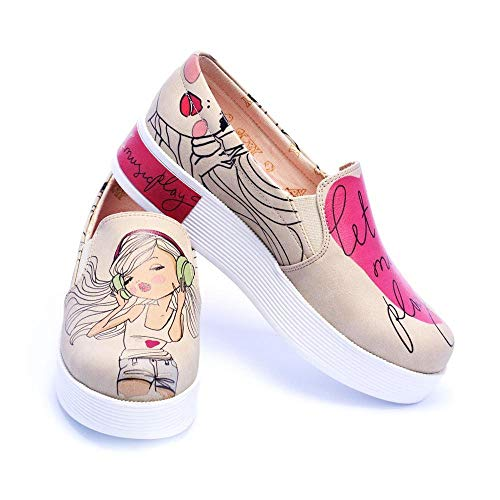 Play Music Sneakers Let Shoes Vn4219 On The Slip p7qWzEw