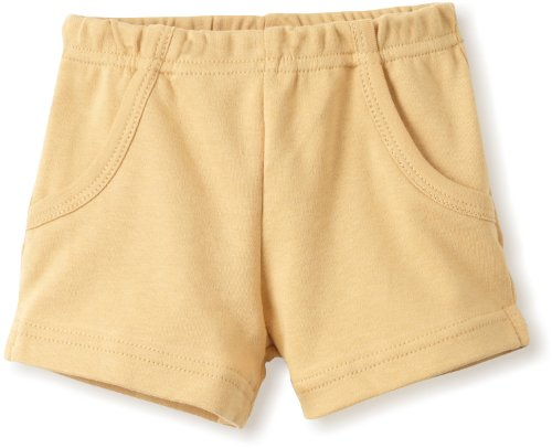 L'ovedbaby Unisex-Baby Newborn Short, Show and Tell Caramel, 0-6 Months