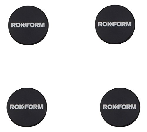 Rokform BAM 1 inch Adhesive Universal Magnetic Aluminum Phone Car mount/holder. Quad Pack - Bam N