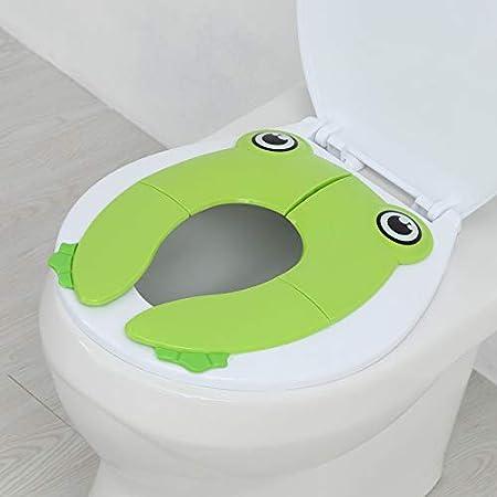 ZREAL Tragbare Falten Baby T/öpfchen Sitz Matte Wc Training Sitz Urinal Kissen Rutschfeste Pad