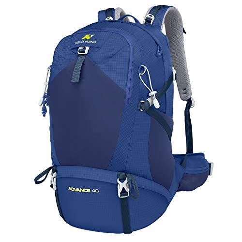 NEVO Rhino 40L Internal Frame Hiking Backpack, Waterproof Camping Backpacking Daypack
